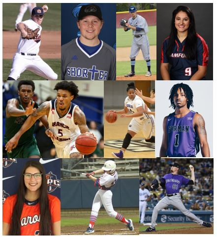 Canes Athletes performing beyond High School Spring 2019
