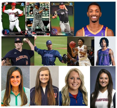 Canes Athletes Competing After High School…