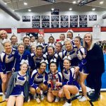 Girls Varsity Competitive Cheer finishes in 1st place at Sonoraville Competition