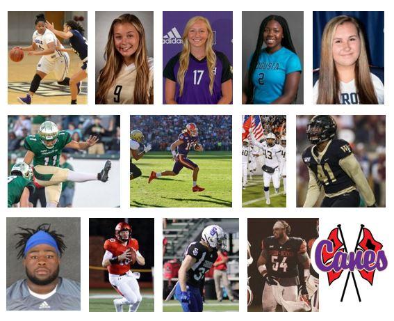 Cartersville Athletes After High School Update