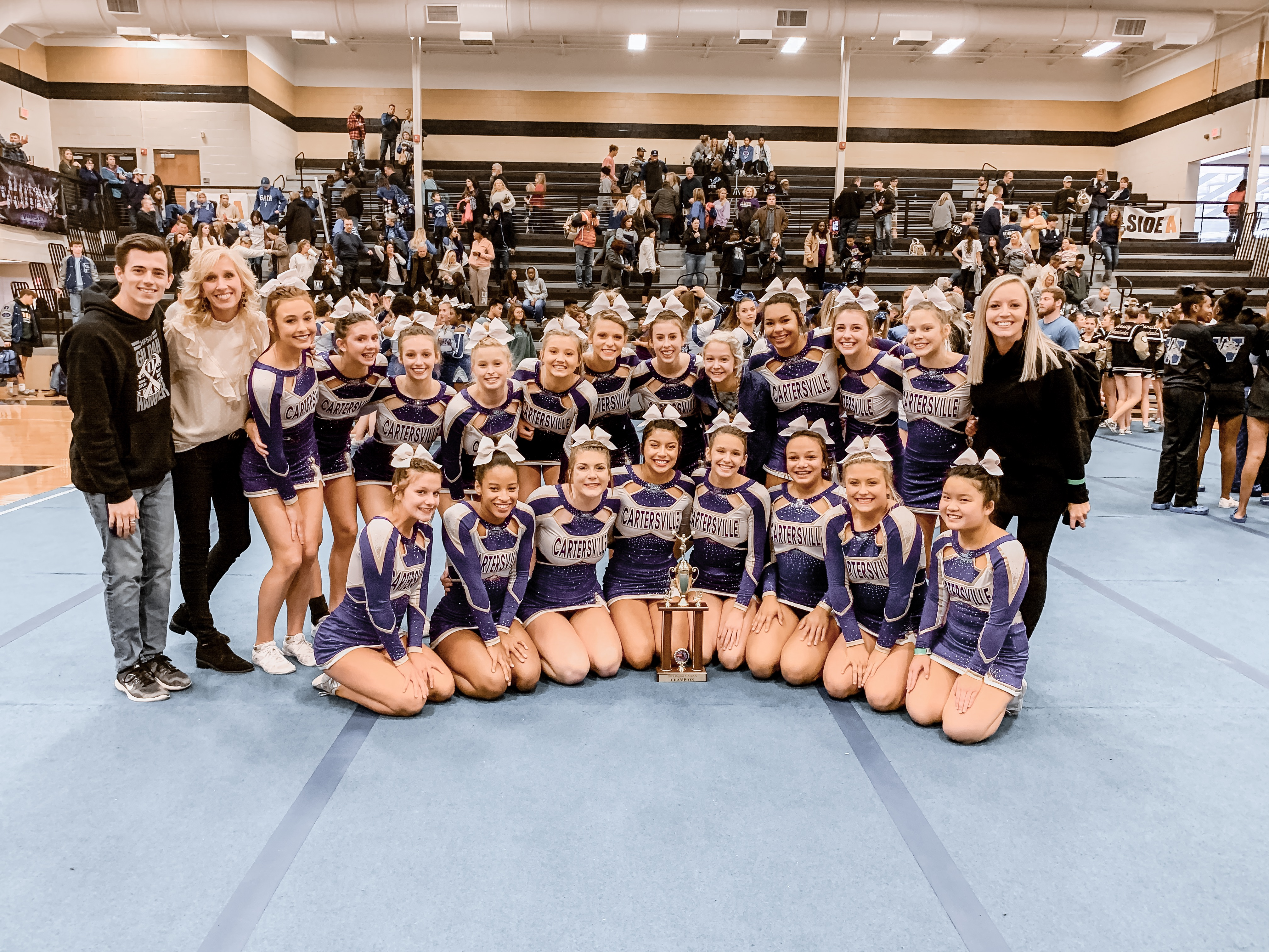 2019 Region 5 AAAA Cheerleading Champions