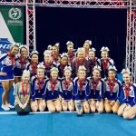 Girls Varsity Competitive Cheer finishes 2nd place at State Championship Cheer Competition