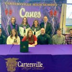 Cartersville swimmer Breedlove signs with Lenoir-Rhyne