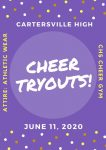 2020 Cheerleading Tryout Information