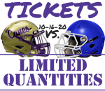 Cass vs. Cartersville Limited Tickets Available