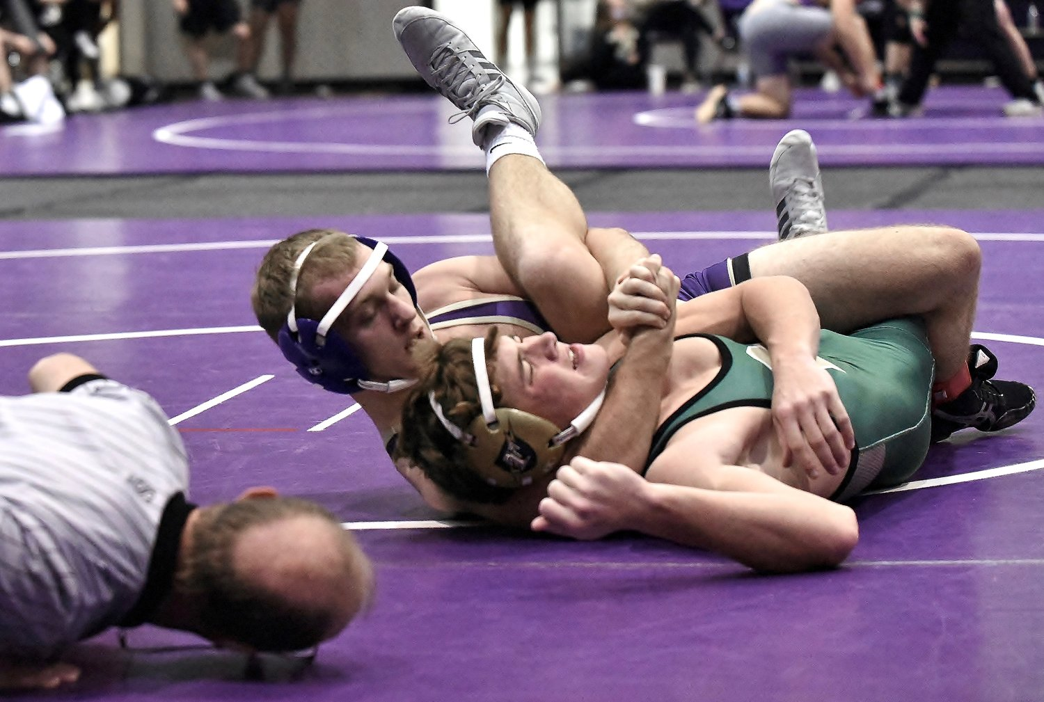 Canes Wrestlers Qualify for 1st Ever GHSA State Team Dual Prelims
