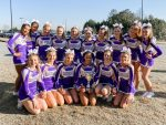 Girls Varsity Competitive Cheer finishes 1st place at Rumble at the Den