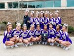 Girls Varsity Competitive Cheer finishes 1st place at Allatoona's Buccaneer Bash