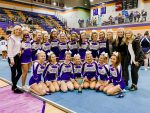 Girls Varsity Competitive Cheer finishes 1st place at GHSA Region Competition