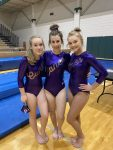 Girls Varsity Gymnastics finishes 3rd place at Westminster