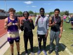 Congratulations to the Boys 4x100M Relay Region Champions!!