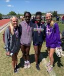 Congratulations to the Girls 4x100M Relay Region Champions!!!