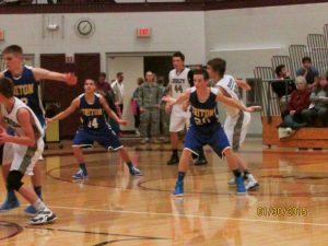 JV Basketball vs Triton 1/30/15
