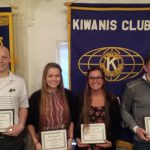 Jimtown Honors 4 athletes at Elkhart Kiwanis Luncheon