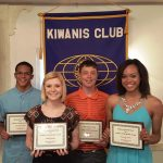 Elkhart Area Kiwanis Club Honors Spring Athletes