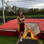 Cassidy Stose set Junior High And NSC Pole Vault Record
