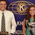 "Heather Bozman of Jimtown is named the ""Elkhart Area–Female Kiwanis Athlete of the Year"""