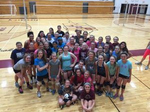 2015 Volleyball Summer Camp