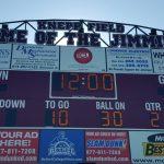 **UPDATE**  Scoreboard powers on…the board is FILLED!!