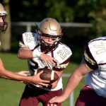 Jimtown Football wins first NIC game