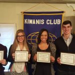 Elkhart Kiwanis Honors 4 Jimtown Fall Scholar Athletes