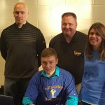 Hunter Price signs rare DOUBLE-Sport,  College Athletic Letter of Intent