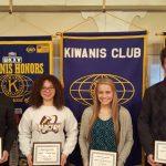 4 Jimtown Winter Athletes Honored by Kiwanis
