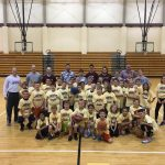 Boys Basketball holds little kids' camp