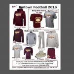 Jimtown Football Gear…LIMITED TIME!!