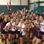Jimtown High School Girls Varsity Volleyball beat Northridge High School 3-1