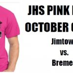 "Bremen and Jimtown to sell ""Pink Night"" shirts together"