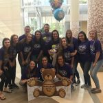 Varsity VB visits Egertons at Riley Hospital