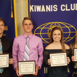 4 Fall-Sport Jimmies Honored by Elkhart Kiwanis Club