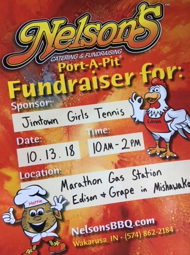 Pick Up Some Nelson's Chicken Before Notre Dame this Saturday and Help the Jimmies Girls Tennis Team