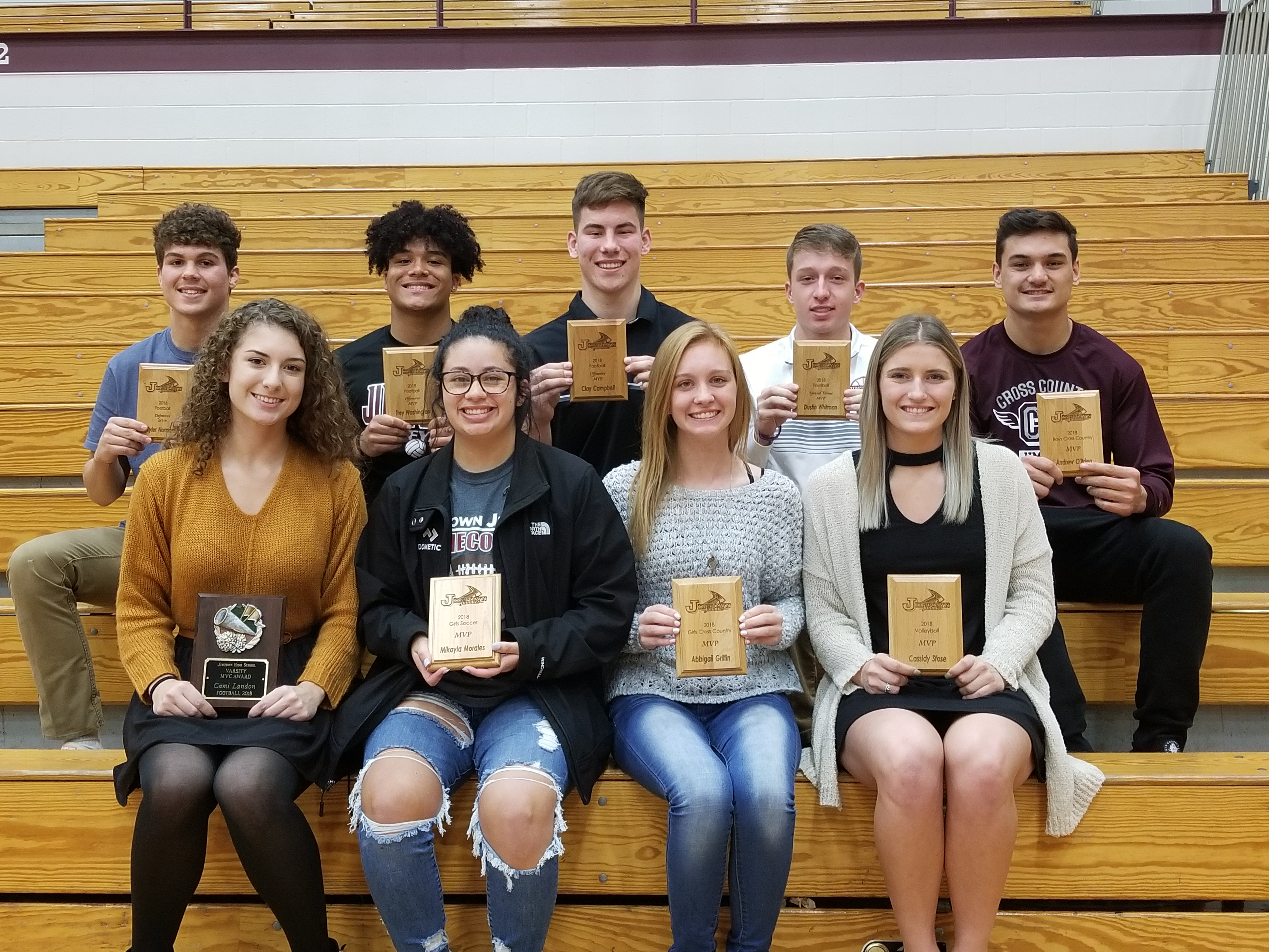 Fall Sports Wraps up with Awards Night