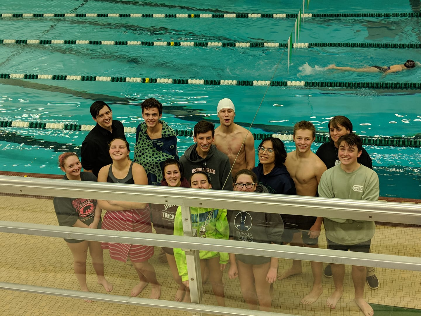 Jimtown Swim Team Notches some High Places in 1st ever Co-Ed Meet