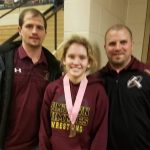 Jimtown's Riley Horvath Finishes 6th in State Girls Wrestling Tourney