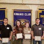 JHS Winter Kiwanis Honorees