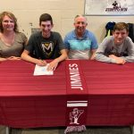 Jimtown Baseball Player is off to Manchester