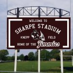 Donation Opportunities Now Available for Sharpe Stadium Display