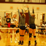 Varsity Volleyball Wins defeats Elkhart Central 3 – 0