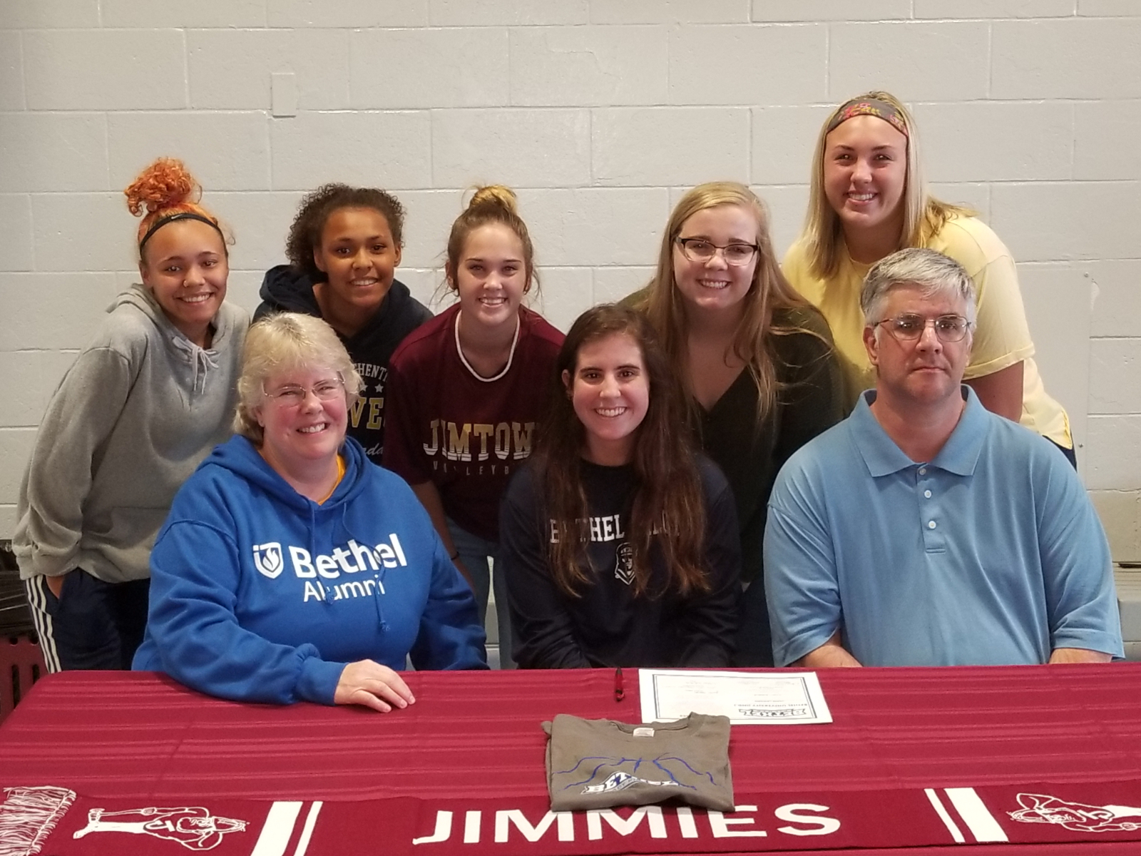 "Jimmie Basketball Player to ""Hoop it Up"" with the Bethel Pilots"