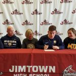 Clay Campbell signs with the Marian Knights (NO…not THAT one)