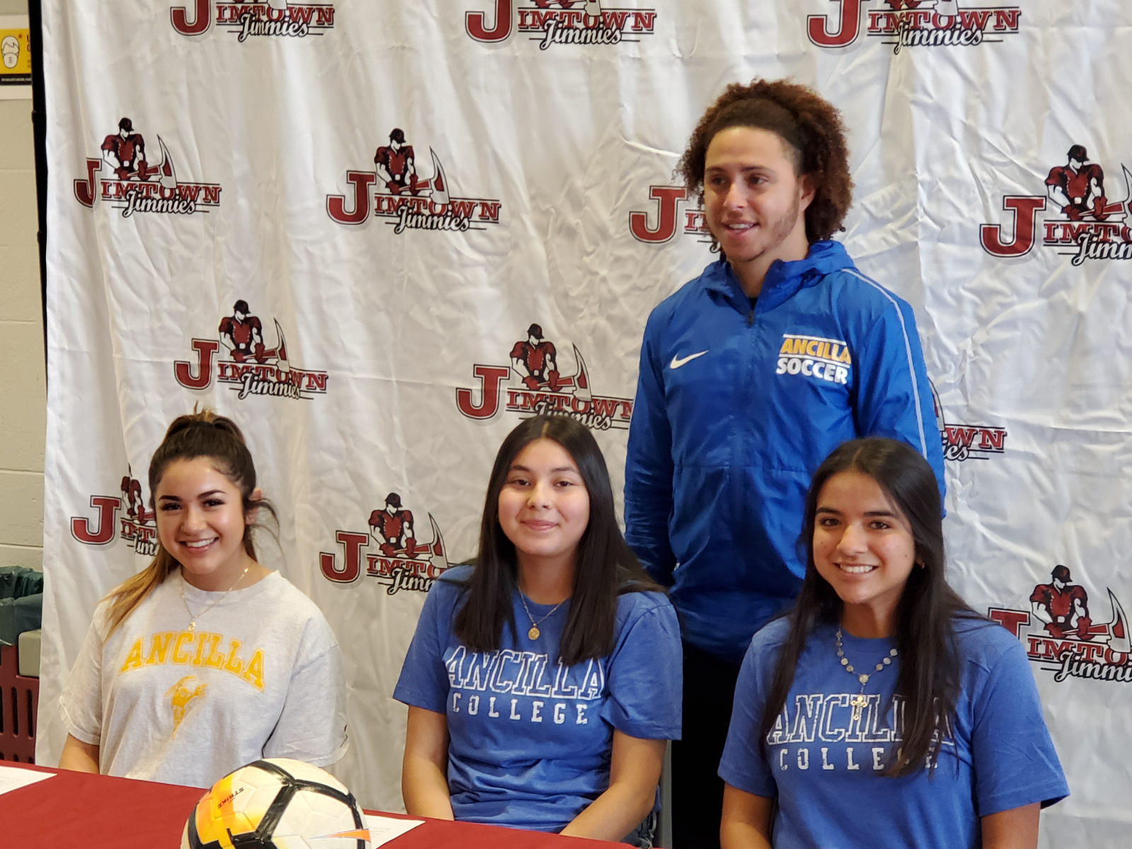 2 Jimtown Girls Soccer Players Sign with Ancilla!!