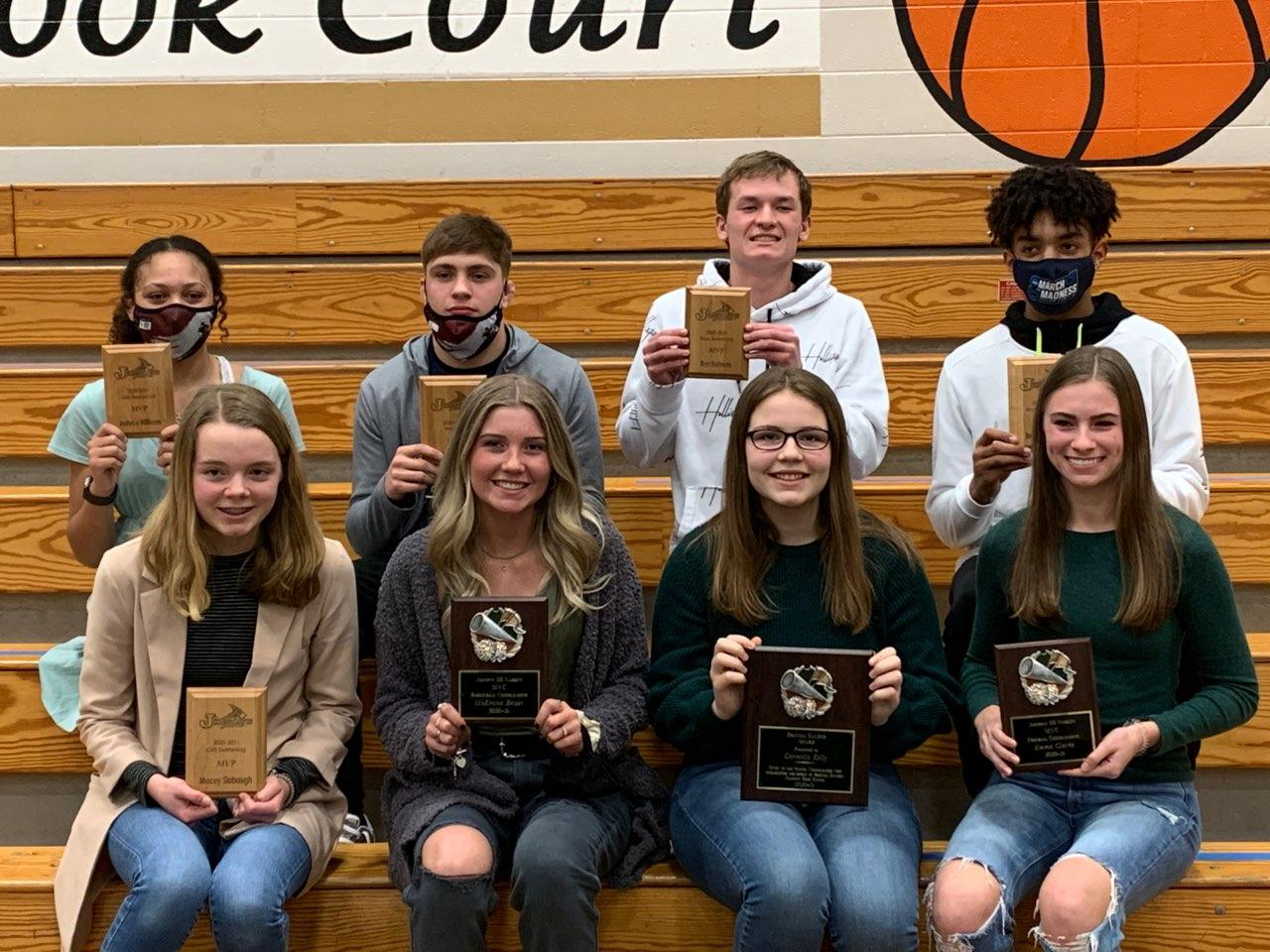 Winter Sports Officially Wraps up with Awards Program