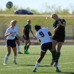 Derby High School Girls Varsity Soccer beat Wichita-East 3-0