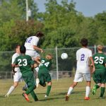 Greencastle High School Soccer Varsity Boys beats Monrovia High School 4-2