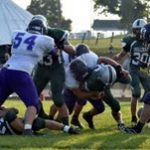 Greencastle High School Football Varsity beats Monrovia High School 34-21