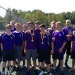 GHS Tennis finishes 3rd place at Sullivan Invitational