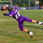 GHS Football Varsity beats Edgewood High School 21-0